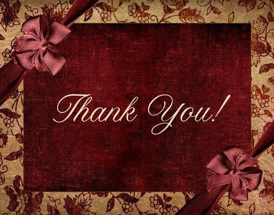 A Special GALA Thank you!