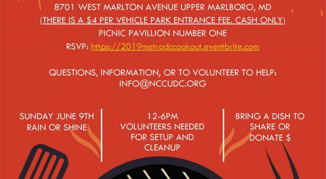 2018 Metro DC Chapter Cookout & Fellowship