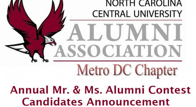 Metro DC Chapter – Annual Mr. & Ms. Alumni Contest Candidates