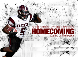 Save the Date! NCCU Homecoming November 8-9, 2019