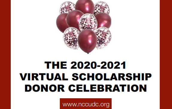 Thank you from NCCUDC – Donor and Chapter Celebration