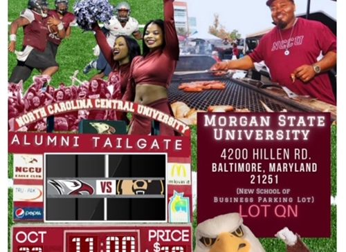 NCCU vs Morgan State Football (tailgating)